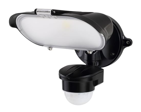 Picture of HOUSEWATCH 40W Singl LED Floodlight with Motion Sensor IP54. Passive IR