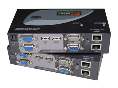 Picture of REXTRON Dual View KVM Extender Allows VGA, Mouse & Keyboard