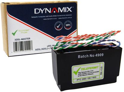 Picture of DYNAMIX XDSL Master Wired in filter , ADSL/ADSL2+/VDSL/VDSL2.