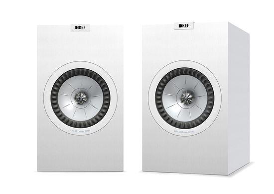 Picture of KEF Bookshelf Speaker. CFD-designed Port. 2-Way bass reflex. Uni-Q