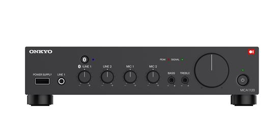 Picture of ONKYO 100V line Mono-Mixing amplifier. 120W at 2ohm 70V/100V