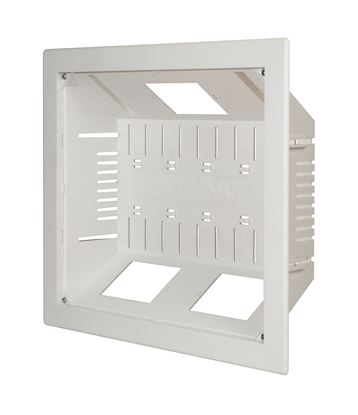 Picture of DYNAMIX Recessed Entertainment Box Delivering AV, Data & Power in Wall