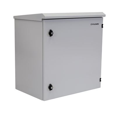 Picture of DYNAMIX 12RU Outdoor Wall Mount Cabinet. External Dims 611x425x640.