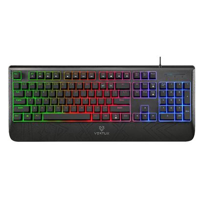 Picture of VERTUX Rapid Response Mechanical Gaming Keyboard with LED Backlight.