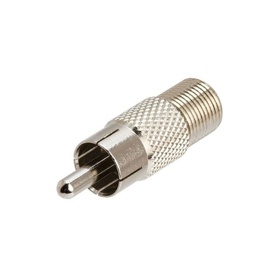 Picture of STARVIEW F Female/RCA Male Adaptor Convert F Type Male Into RCA Male