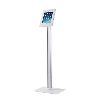 Picture of BRATECK iPad Anti-theft Floor Standing Kiosk. Designed for 9.7""