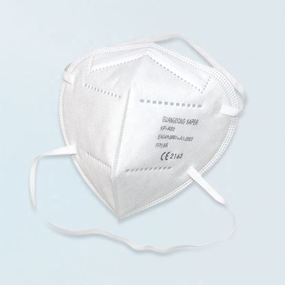 Picture of KN95 Protective Face Mask - 50 Pack with 4-Layer Protection. Dual Mask