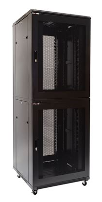 Picture of DYNAMIX 45RU Co-Location Server Cabinet with 2 Compartments. 1000mm