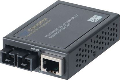 Picture of CTS Compact Fast Ethernet Media Converter. 10/100Base-TX to