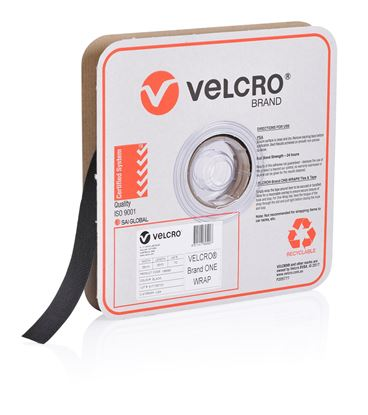 Picture of VELCRO One-Wrap 25mm Continuous 22.8m Roll. Custom Cut to Length.