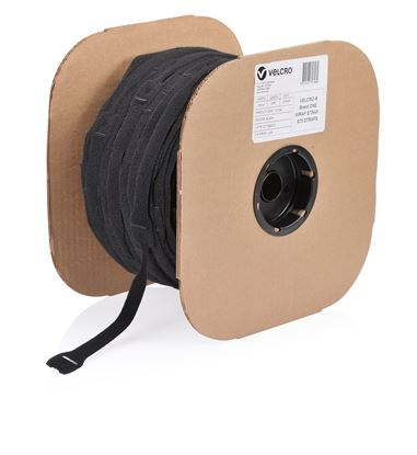 Picture of VELCRO One-Wrap 25mm x 200mm Pre-sized Ties. 675 Ties per Roll.