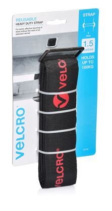 Picture of VELCRO Heavy Duty 1.5m x 50mm Tie Down Strap. Secure & Hold up to