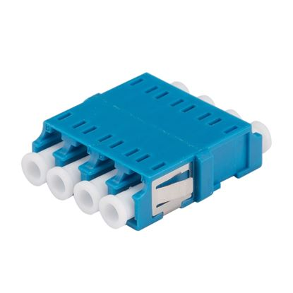 Picture of DYNAMIX Adapter LC Quad SM Blue Flangeless