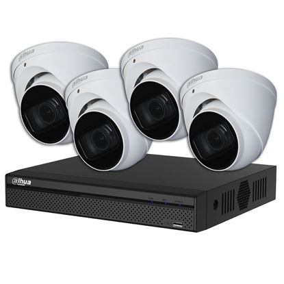 Picture of DAHUA 8 Channel IP Surveillance Kit .Includes 8 Port 4K PoE NVR with