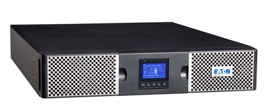Picture of EATON 9PX 3000W RT2U (tower/rack 2U). Graphical LCD display. Hot