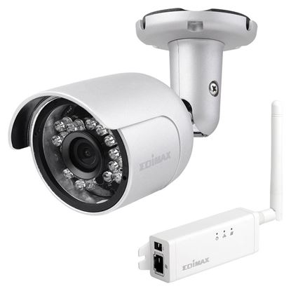 Picture of EDIMAX Day/Night Mini Outdoor Wireless IP Camera. IP66.