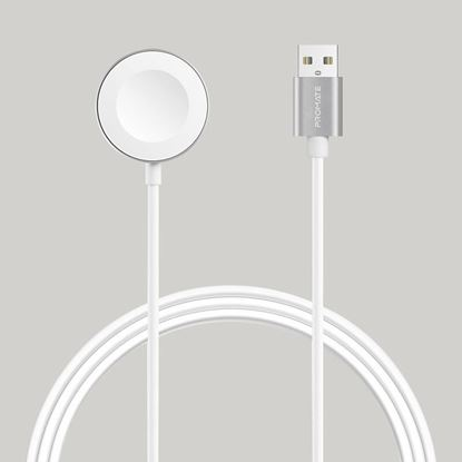 Picture of PROMATE MFi Certified 5W Fast Charging Pad for Apple Watch.
