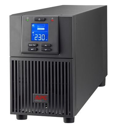 Picture of APC Easy UPS On-Line 2kVA (1600W) Tower. 230V Input/Output. 4x IEC