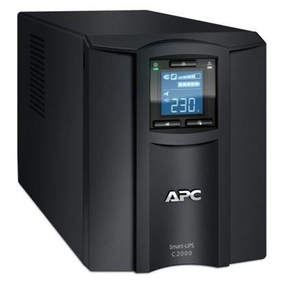 Picture of APC Smart-UPS 2000VA (1300W) Tower. 230V Input/Output. 6x IEC C13