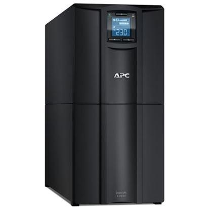 Picture of APC Smart-UPS 3000VA (2100W) Tower. 230V Input/Output. 8x IEC C13