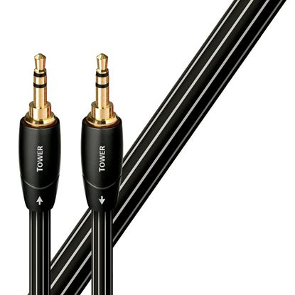 Picture of AUDIOQUEST Tower 3M 3.5mm M to 3.5mm M. Solid Long Grain Copper.