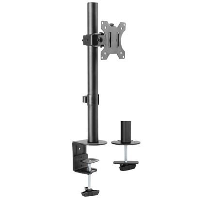 Picture of BRATECK 13'-32' Single Monitor Desk Mount Rotate, tilt swivel. Supports