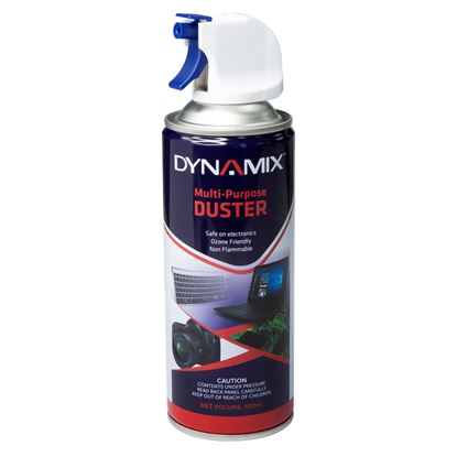 Picture of DYNAMIX 400ml Air Duster, Super High Pressure, Non-Flammable,