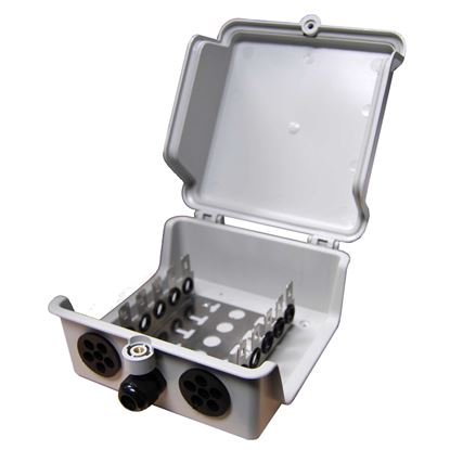 Picture of DYNAMIX 50 Pair Outdoor Distribution Box (5 x 10 Position).