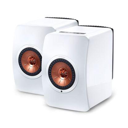 Picture of KEF Wireless Professional Studio Monitor Speakers. Uni-Q driver