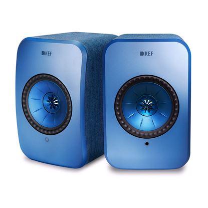 Picture of KEF LSX Wireless Mini Monitor Speakers. 4' Uni-Q driver, wireless