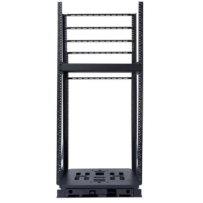 Picture of DYNAMIX 19' 24U Rotary Rack. Rotation Angles of  45 & 90 Allow