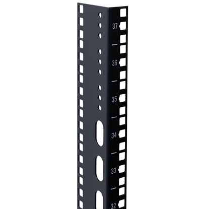 Picture of DYNAMIX 45U L-shaped mounting rail for 600mm width cabinets.