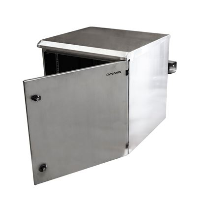 Picture of DYNAMIX 12RU Stainless Outdoor Wall Mount Cabinet (610 x 425 x 515mm).