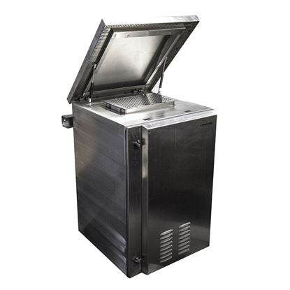 Picture of DYNAMIX 12RU Stainless Vented Outdoor Wall Mount Cabinet (610 x
