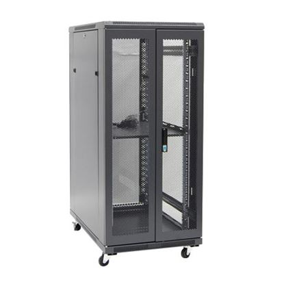 Picture of DYNAMIX 27RU Server Cabinet 1000mm Deep (800 x 1000 x 1410mm) Includes