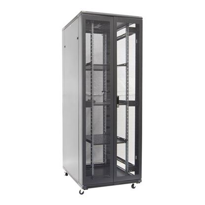 Picture of DYNAMIX 42RU Server Cabinet 1000mm Deep (800x1000x2077mm) FLAT PACK