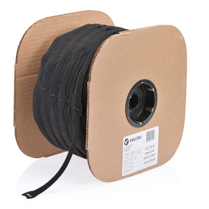 Picture of VELCRO One-Wrap 19mm x 200mm Pre-sized Ties. 900 Ties per Roll.