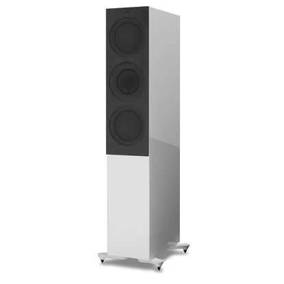 Picture of KEF Microfibre Grilles to fit KEF R7. Colour - Grey. SOLD AS A PAIR