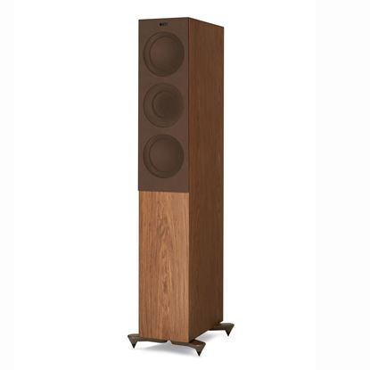 Picture of KEF Microfibre Grilles to fit KEF R5. Colour - Brown. SOLD AS A PAIR
