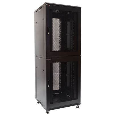 Picture of DYNAMIX 45RU Co-Location Server Cabinet with 3 Compartments. 1000mm