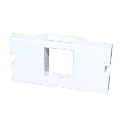 Picture of DYNAMIX 1 Port Keystone Bezel for AVP-3UFP Plate