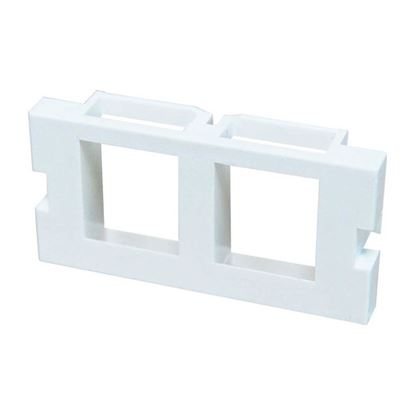 Picture of DYNAMIX 2 Port Keystone Bezel for AVP-3UFP Plate