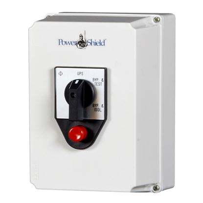Picture of POWERSHIELD Wall Mounted External Maintenance Bypass Switch 10kVA