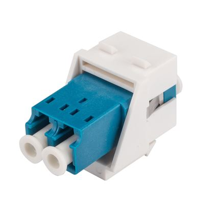 Picture of DYNAMIX LC Duplex Single-mode Slimline Keystone Face Plate
