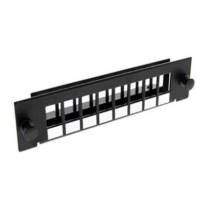 Picture of DYNAMIX SC Simplex/LC Duplex 8 Port Plate Unloaded, 2x Tier Screw