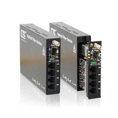 Picture of CTC UNION Multi Channel POTS Over Fibre Converter.