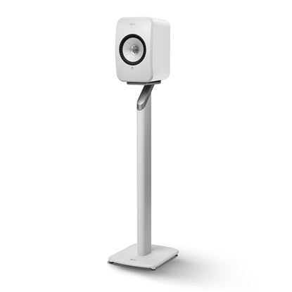 Picture of KEF LSX Floor Stand White Aluminium Construction, Fillable