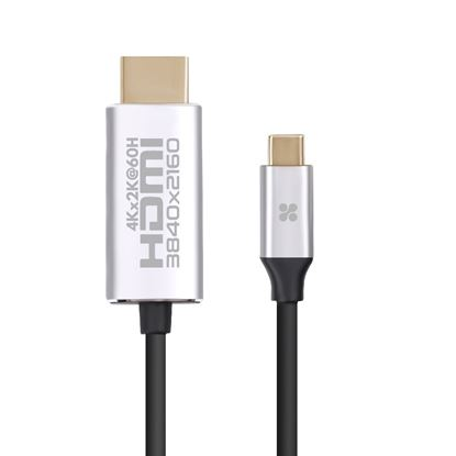 Picture of PROMATE 1.8m USB-C to HDMI cable Premium  Audio Video UltraHD.