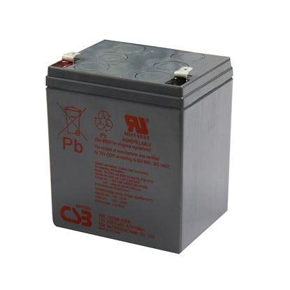 Picture of CSB 12V 23W/5AH Replacement Battery. To suit 3S550AU.