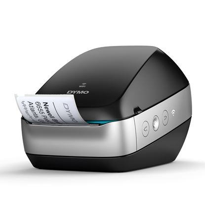 Picture of DYMO LabelWriter Wireless (Black) Printer. Cable-free Convenience.